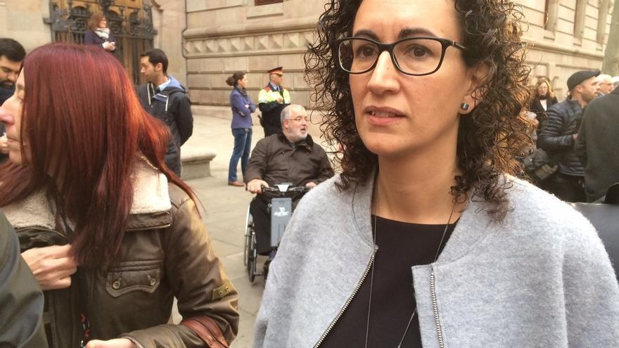 """Rovira (JxSí) acusa al Gobierno de """"perseguir la democracia"""" y pide unidad a los demócratas"""
