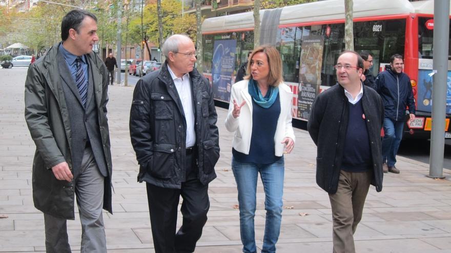 """Chacón quiere llevar el Senado a Barcelona y hacerlo """"útil y federal"""""""