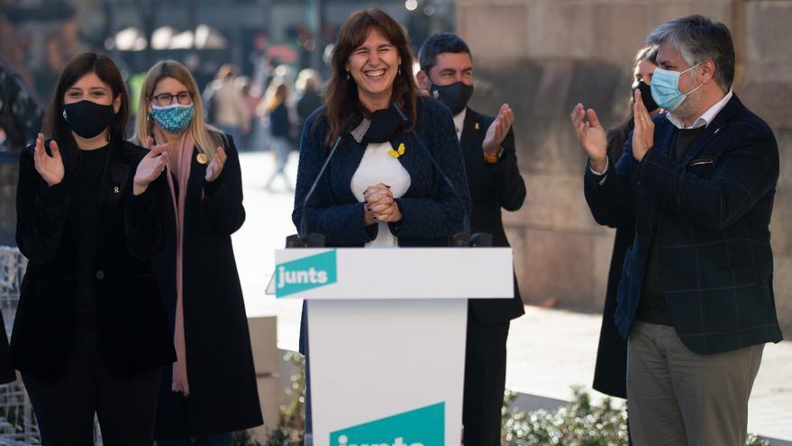 """JxCat defiende """"culminar el mandato del 1-O"""" por """"desbordamiento democrático"""""""