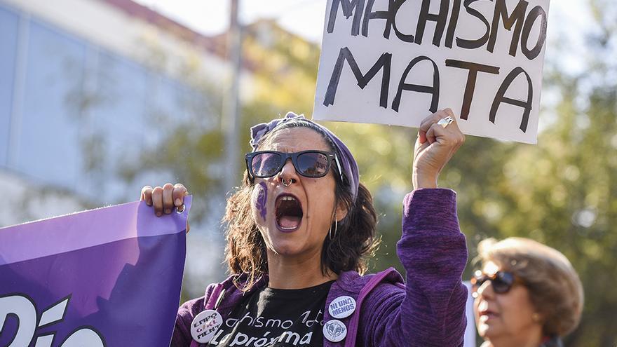 Manifestación contra la Violencia Machista | TONI BLANCO