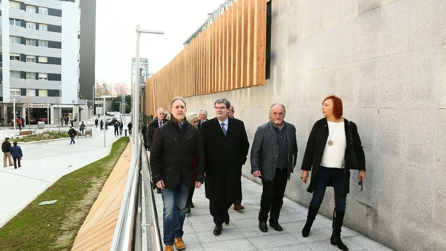 Ayuntamiento de Bilbao concluye la conexión de Rekalde con el centro de la villa