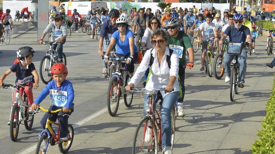 Santander celebrará el 23 de septiembre una marcha ciclista por la Semana de la Movilidad