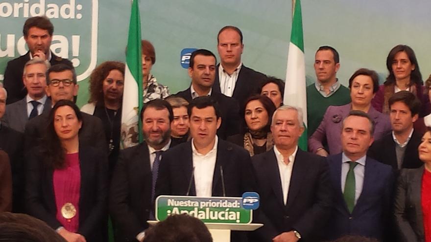 """Moreno exige explicaciones a Díaz por la nueva macrocausa que """"también apunta al Consejo de Gobierno del PSOE-A"""""""