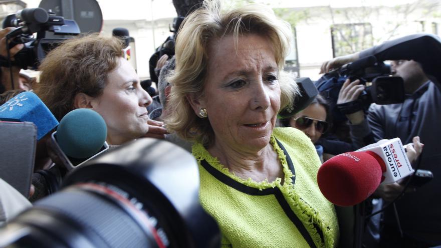 Aguirre arremete contra Montoro, al que culpa de que el Gobierno no baje los impuestos