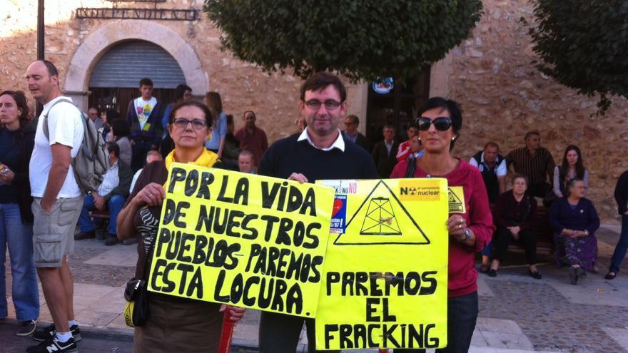 Daniel Martínez no al fracking