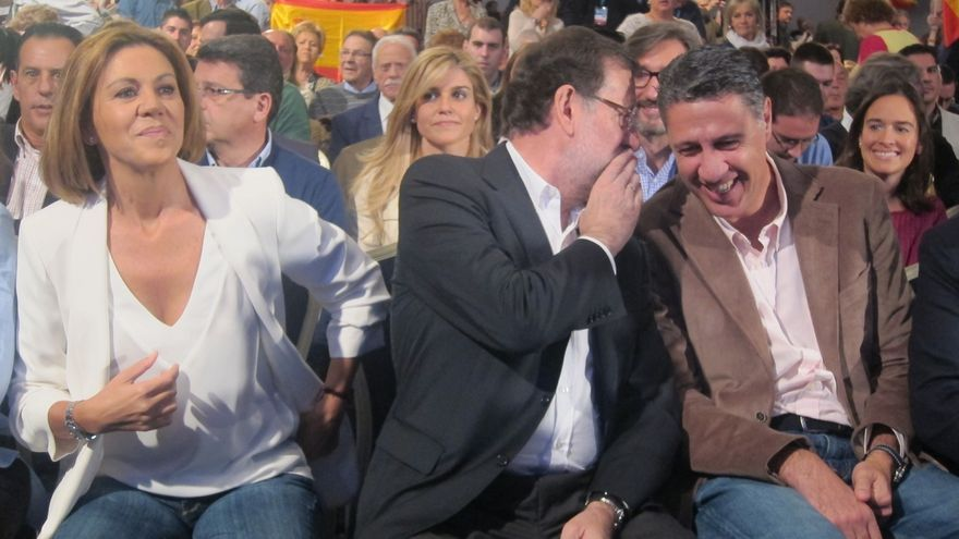 """Rajoy sobre Cataluña: """"No queremos adoptar más medidas pero no depende de nosotros"""""""