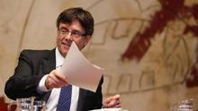 Carles Puigdemont demana no descartar encara un referèndum acordat