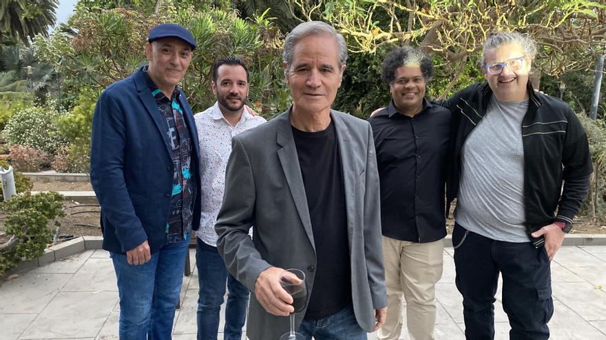 Luis Morera comienza la grabación de su nuevo disco, 'Amor infinito'