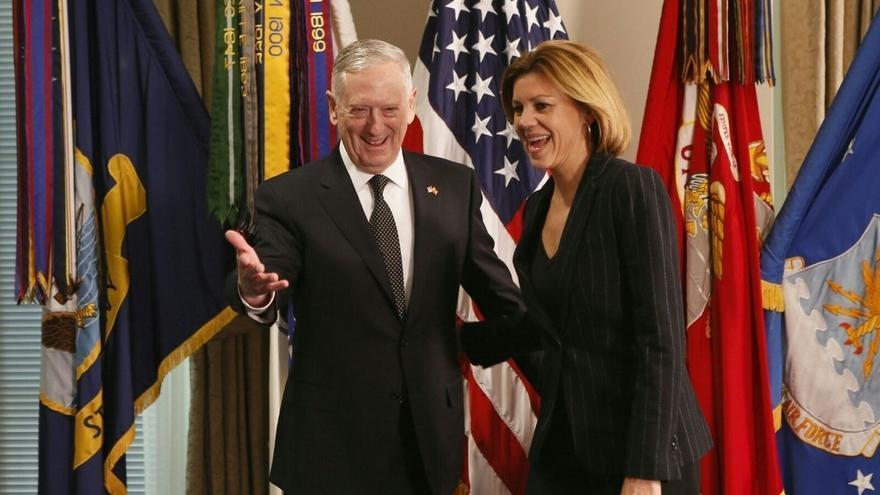 Cospedal asegura que el Gobierno de Trump valora la contribución de España a la OTAN