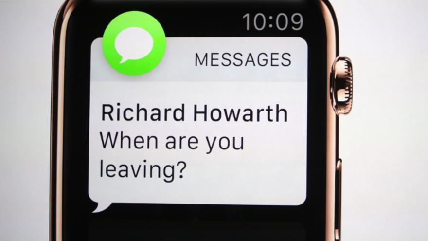 Apple pone la pantalla del iPhone en tu muñeca