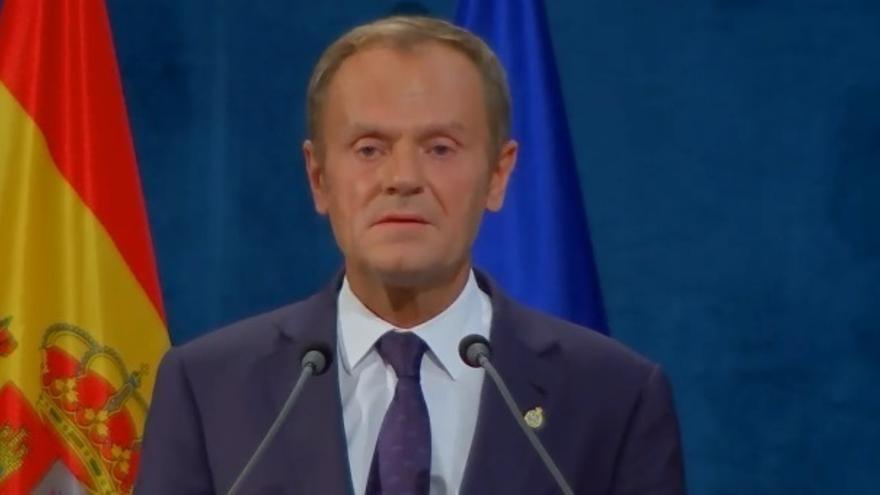 """Donald Tusk: """"El diálogo es siempre mejor que el conflicto"""""""