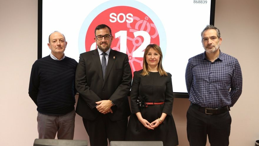 SOS Navarra coordinó la gestión de 333.331 incidentes en 2019, que requirieron 206.070 movilizaciones