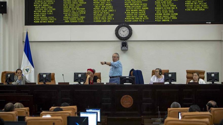 El Parlamento de Nicaragua le quita facultades a su presidente tras la sanción de EE.UU.