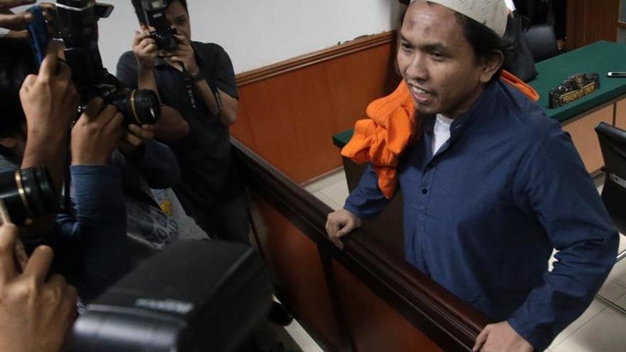 Un yihadista es condenado a 10 años de cárcel en Indonesia