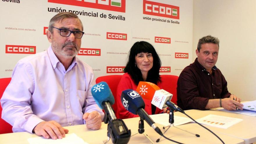CCOO Sevilla pide a las administraciones que no miren para otro lado ante la precariedad laboral en el campo