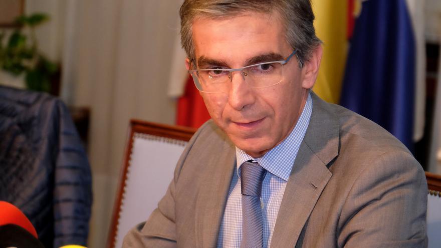 César Díaz, alcalde de Santander en funciones.