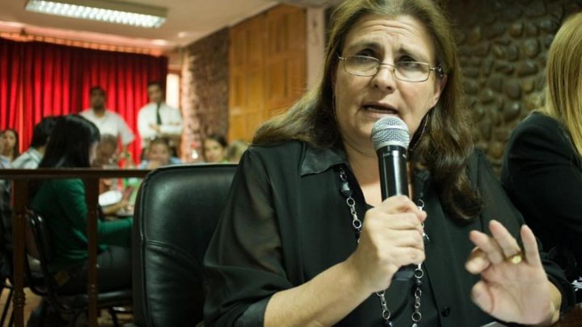 Marita Colombo era la presidenta de la UCR Catamarca.