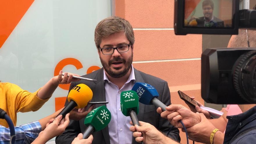 Fran Hervías, en su visita a Jerez.
