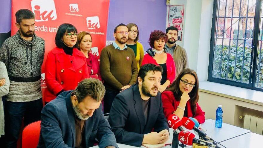 Mauricio Valiente, Alberto Aguilera y Sol Sánchez.