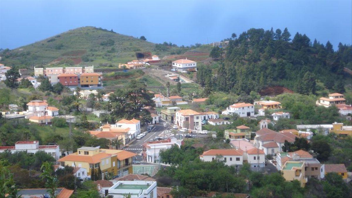 Imagen de archivo del municipio de Puntagorda.
