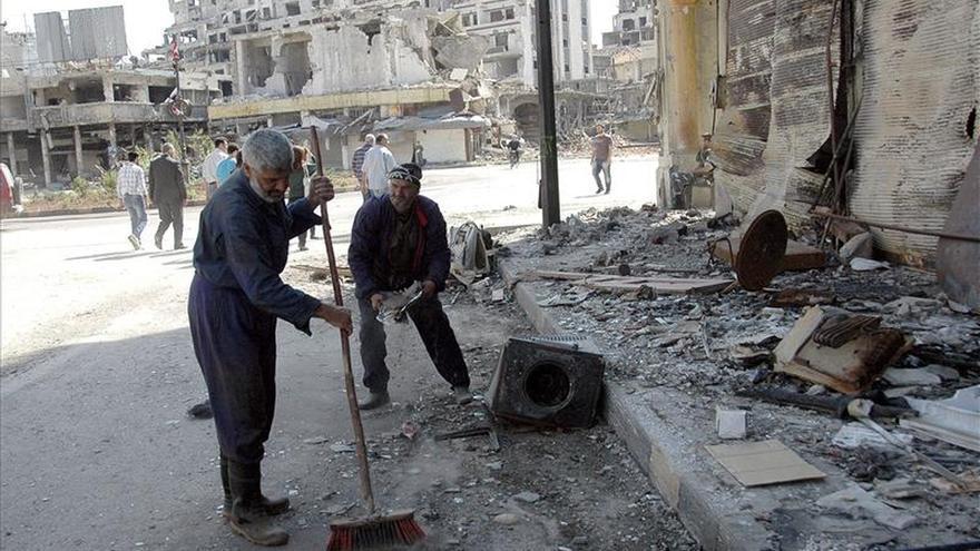 El régimen sirio intensifica los bombardeos con más de 150 ataques en un día