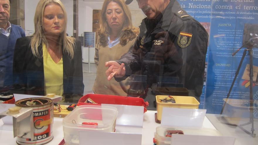 """La Delegada del Gobierno en Navarra: """"La Guardia civil y la Policía Nacional no van a salir nunca de Navarra"""""""