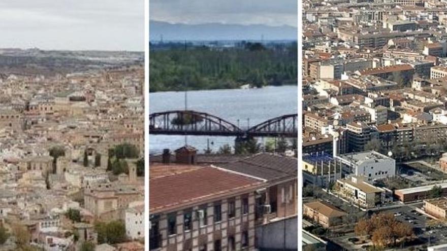 Toledo, Talavera de la Reina y Ciudad Real