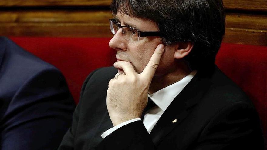 """Puigdemont asegura estar listo para un diálogo """"sin condición previa"""""""