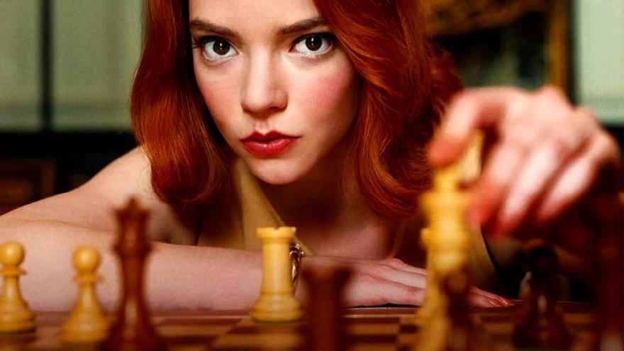 Anya Taylor-Joy, protagonista de 'Gambito de dama'