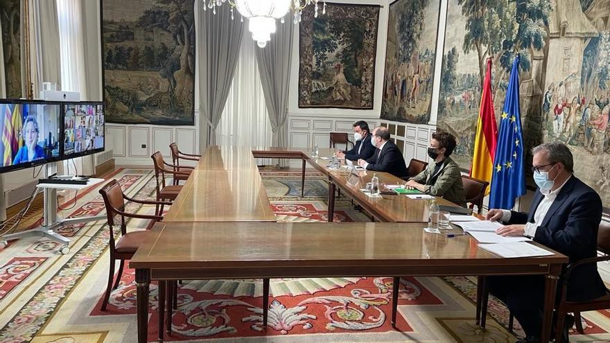 El ministro de Política Territorial y Función Pública, Miquel Iceta, se reúne con los delegados de Gobierno en las CCAA.