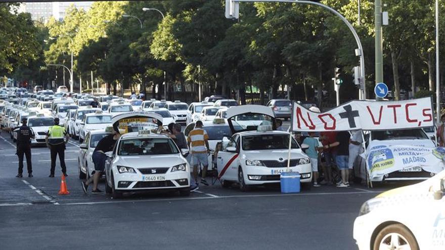 Los taxistas de Madrid inician hoy una huelga indefinida