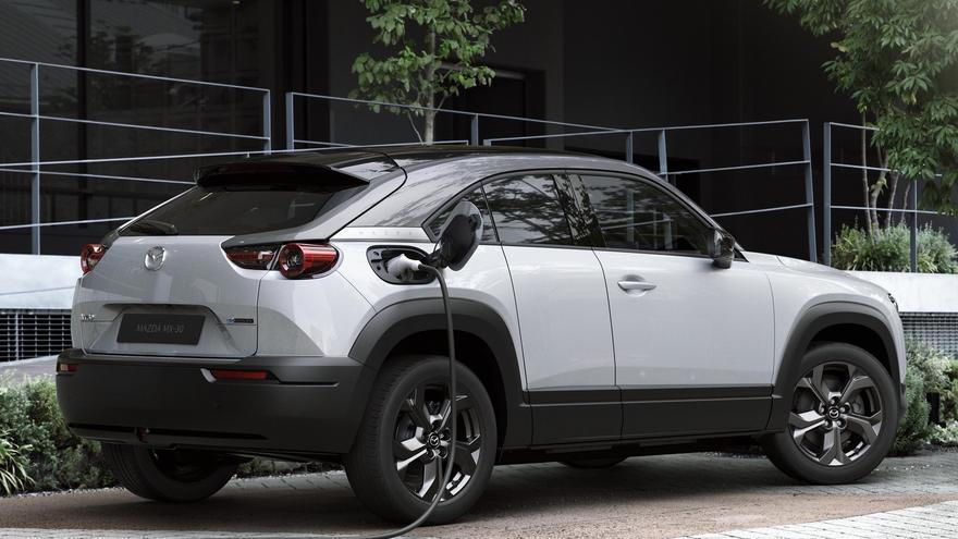 El MX-30 será el primer eléctrico de Mazda.