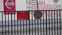 Vista de la entrada de la planta de Nissan.