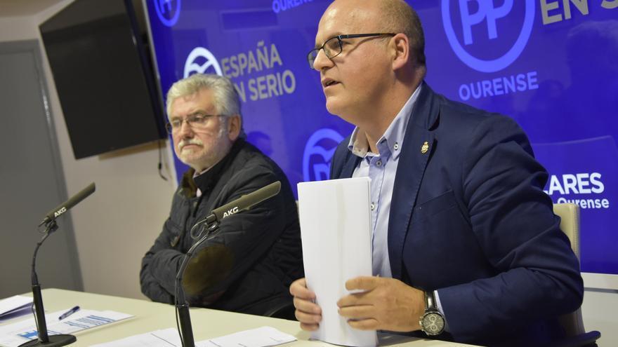Baltar, presentando el congreso provincial del PP