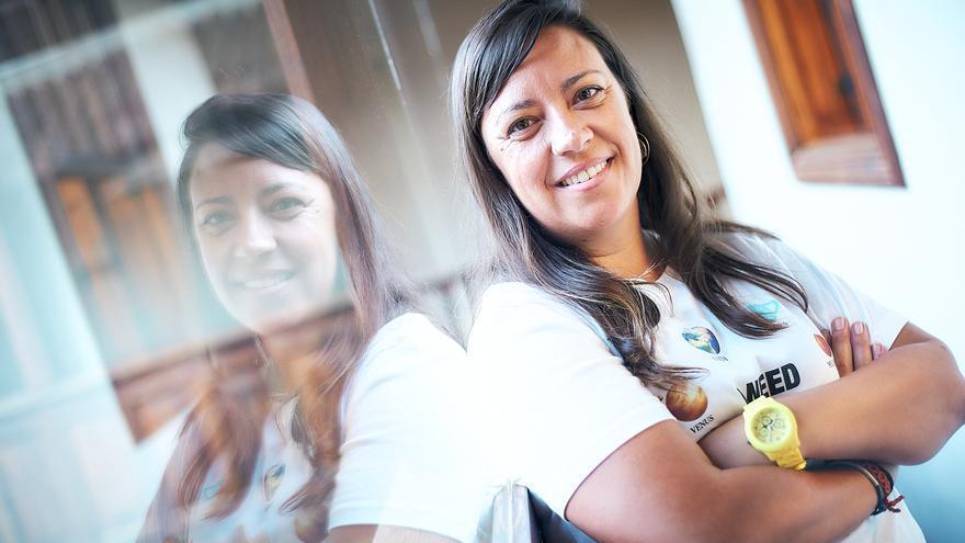 idaira Afonso ya ejerce como concejala de Deportes de La Laguna