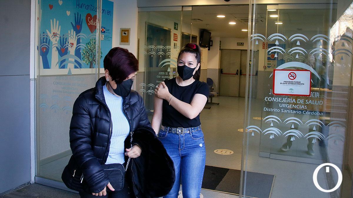 Vacunación de Astrazeneca en el centro de salud del Sector Sur