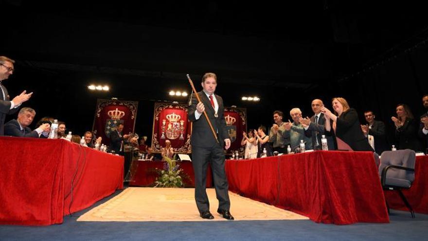 Lores (BNG), investido alcalde de Pontevedra con el apoyo del PSOE