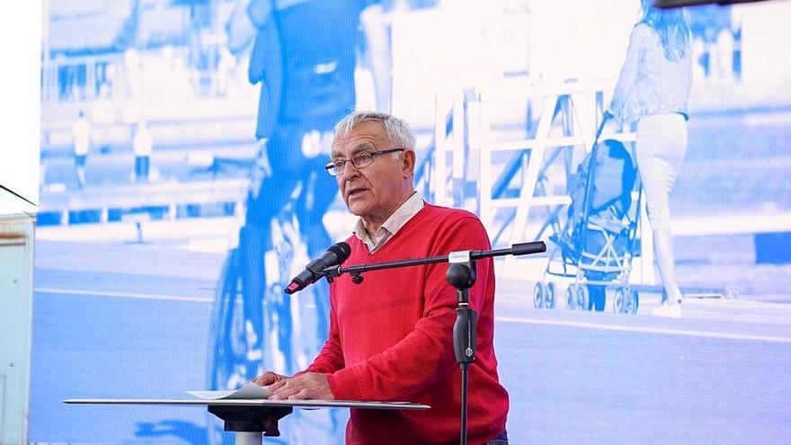 El alcalde València en funciones, Joan Ribó