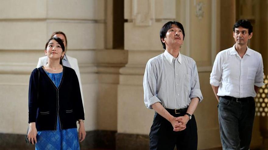 Príncipes Akishino de Japón parten a Chile a conmemorar 120 años de amistad