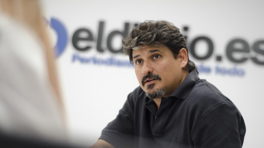 El periodista José Luis Sanz, director del proyecto periodístico 'El Faro', en El Salvador.