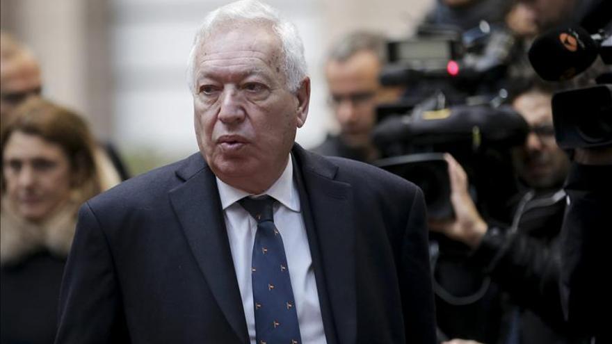 Margallo dice que el tiempo se agota y pide una solución de la UE por el Estado palestino