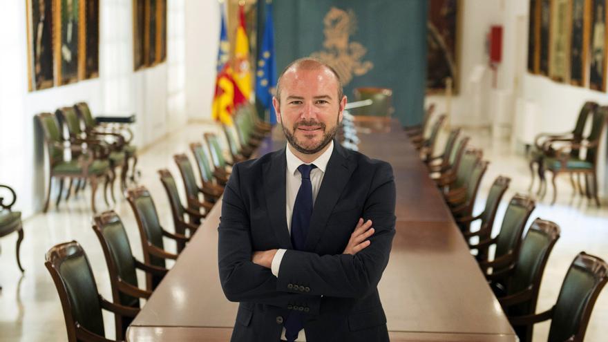 El diputado de Hacienda, el socialista Toni Gaspar