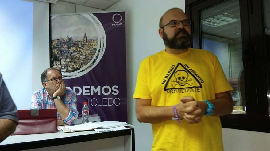 Alfredo Díaz-Cardiel, foto por Podemos Toledo
