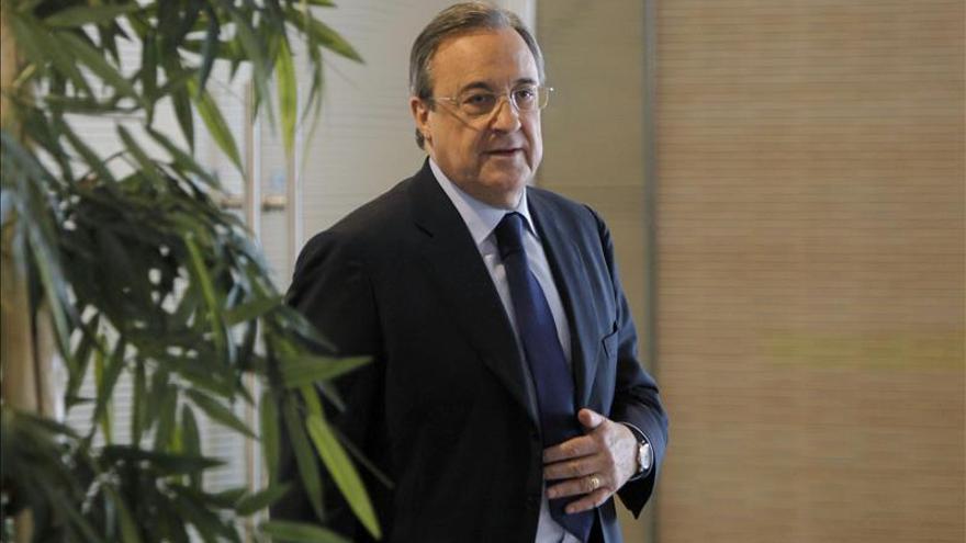 El presidente del Real Madrid, Florentino Pérez. / Efe