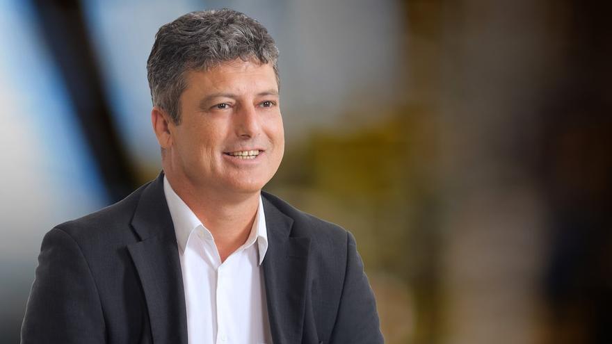 Salvador Delgado, alcalde de Tuineje.