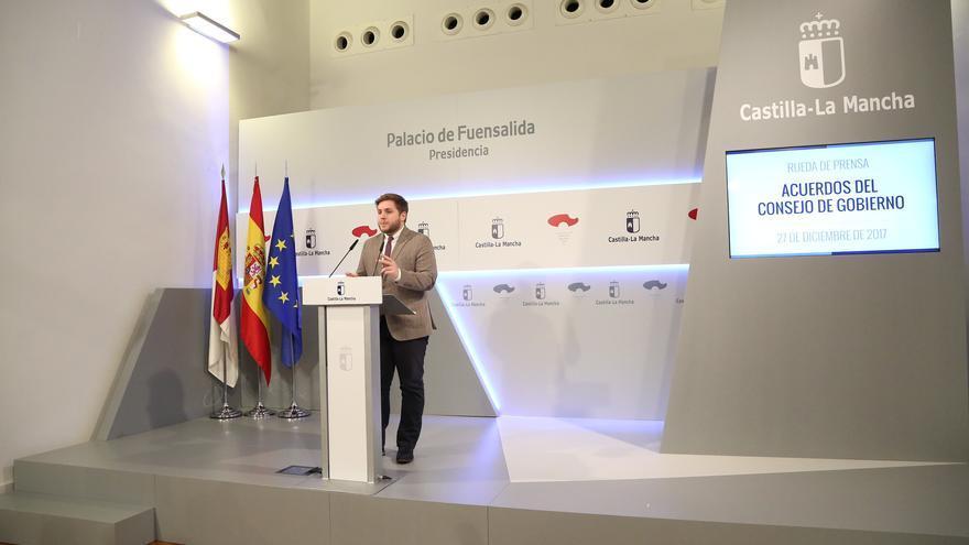 Nacho Hernando, portavoz del Gobierno regional Castilla-La Mancha