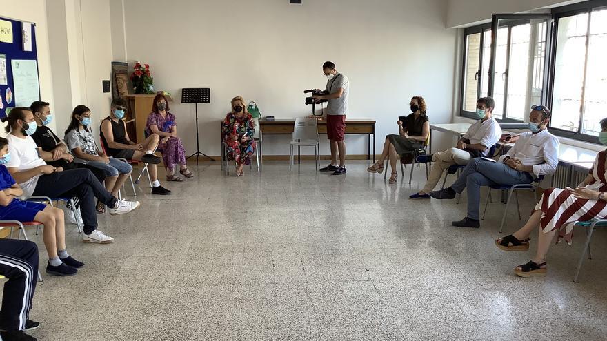 El Programa Somos trabaja en Tudela con personas de origen sirio