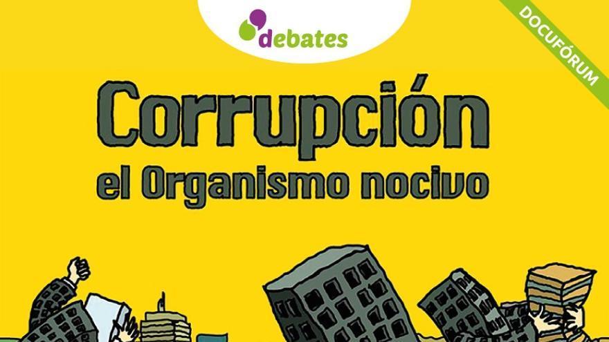 Cartel del debate del próximo jueves en el Paraninfo de la Universidad de La Laguna