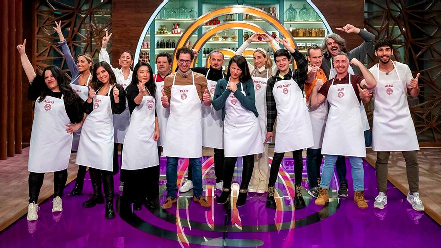 'MasterChef 9': todos los concursantes de la nueva edición en TVE