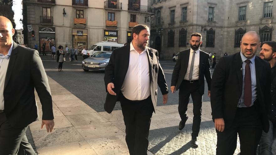 """Junqueras afirma que el Estado está """"atacando"""" las instituciones de Cataluña"""